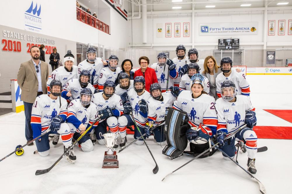 A Great Weekend for Women's Hockey