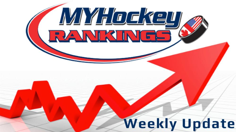 2019-20 Week #5 Rankings Released