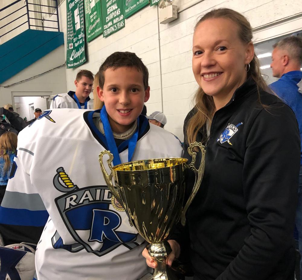 Mom Inspires Young Goalie October Saves Efforts