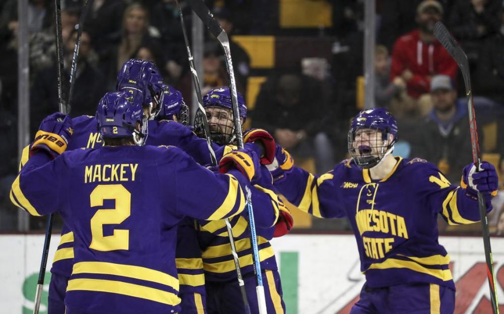 NCAA Frozen Four Simulation: Let the Purple Reign Begin!