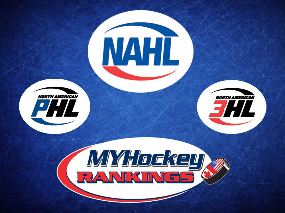MYHockey Rankings, NAHL/NA3HL/NAPHL Announce Strategic Partnership for 2020-21 Season