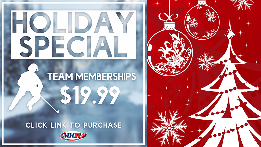 Holiday Special!! MHR Team Memberships Only $19.99