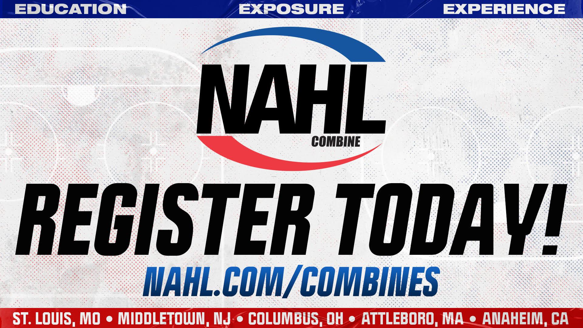 Registration for 2021 NAHL Combines Now Open