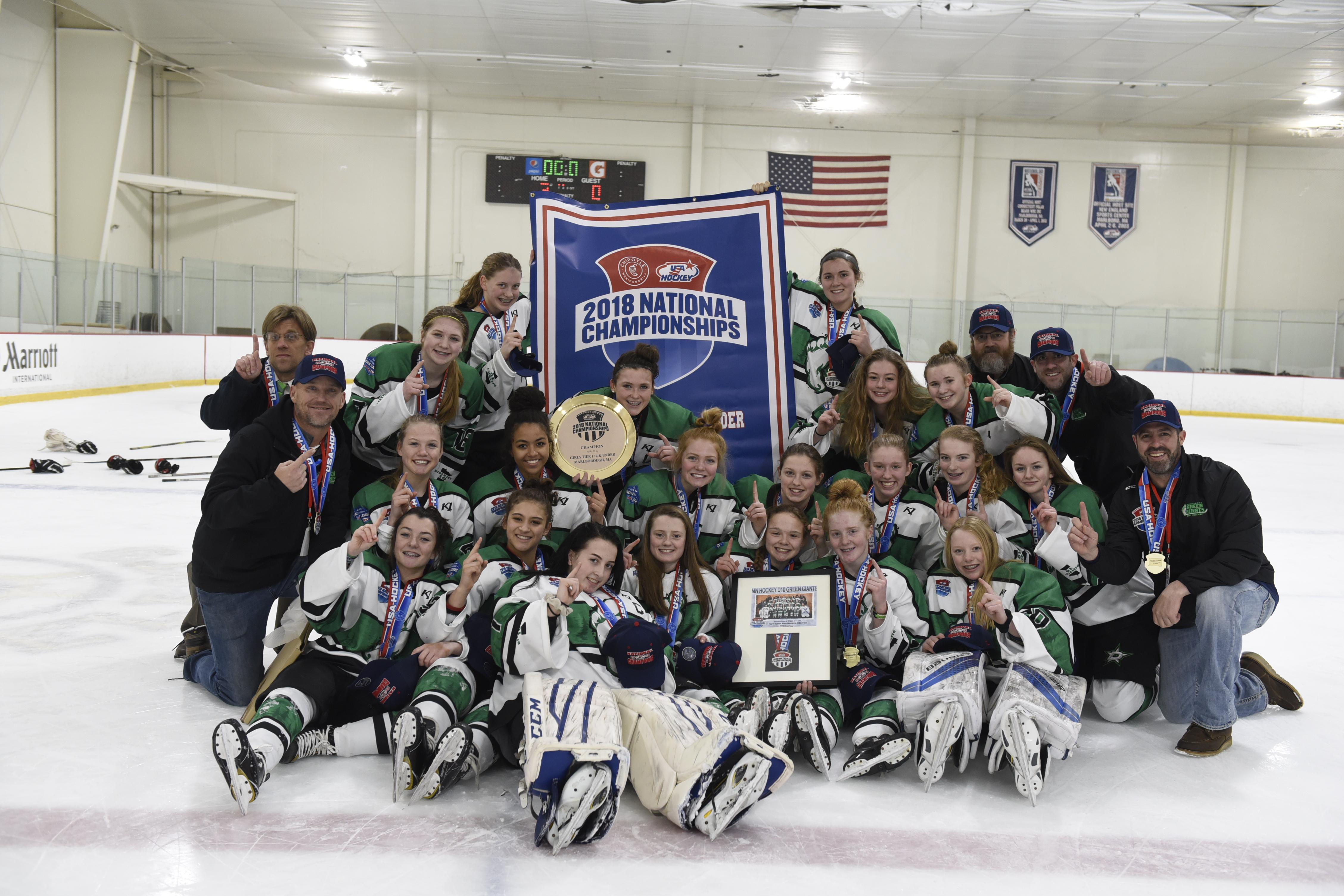 USA Hockey Girls Tier 1 Nationals Preview